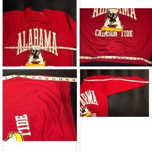 Vintage Alabama Sweatshirt/Crimson Tide